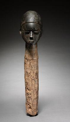 Head, c. 1900. Western Sudan, Burkina Faso, Lobi , early 20th century.