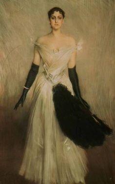 Giovanni Boldini - Portrait of a Lady