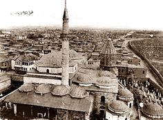 Konya #Konya1900 Old Pictures, Solar Power, Paris Skyline, Istanbul, Turkey, Architecture, City, Places, Mosques