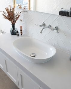 Bathroom | Laundry | Tapware (@adpaustralia) • Instagram photos and videos Inset Basin, Classic Interior, Laundry In Bathroom, The Hamptons, Sink, Modern, Home Decor, Sink Tops, Vintage Interiors