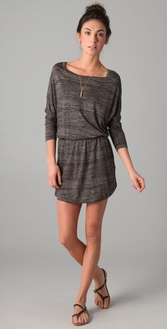 Love comfy dresses. Would like it to be longer but hey, we can't have everything. (:
