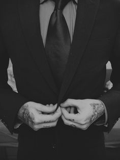 "I dont want a country boy or a guy with ""swag"" i want a man with some tattoos under his suit"