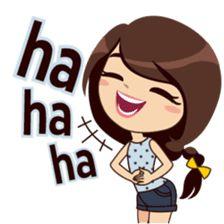 Alice in College Version – LINE stickers Love Cartoon Couple, Cute Cartoon Pictures, Cute Cartoon Girl, Cute Love Pictures, Cute Love Cartoons, Funny Emoji, Cute Emoji, Love Stickers, Funny Stickers