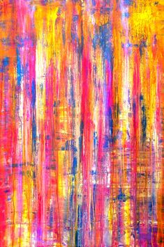 FineArtSeen - The Emotional Creation #45 by Carla Sa Fernandes. This original abstract painting is full of colour and comes from the collection on FineArtSeen. Click to view more art at great prices from the Home Of Original Art. << Pin For Later >>