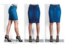 Collezione pantaloni Chiara Dalba  Spring Summer 2016 #denim #jeans #skinny #moda #donna #pantaloni #tapestry #tasche #elastici #luxury #catalogo #modelli #aderenti #gonne #blu