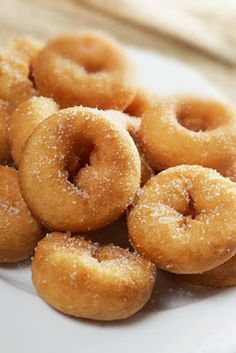 There's No Doubt Sugary Mini Donuts Are My Favorite Minnesota State Fair Food Baked Mini Donuts Recipe, Mini Donut Recipes, Baked Doughnuts, State Fair Mini Donut Recipe, Honduran Recipes, Mexican Food Recipes, Sweet Recipes, Dessert Recipes, Pork Rind Recipes