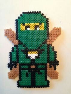 Lloyd Source by georgneu Perler Beads, Fuse Beads, Pearler Bead Patterns, Perler Patterns, Diy And Crafts, Crafts For Kids, Pix Art, Beading For Kids, Lego Craft
