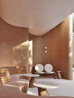 Cafe Interior Design, Interior Exterior, Home Interior, Interior Architecture, Restaurant Design, Restaurant Bar, Modern Restaurant, Bar Design, House Design