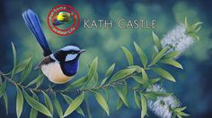 Fine art tips with a Free Acrylic Art Tutorial with Kath Castle on Colour In Your Life - Watch Video Wildlife Paintings, Wildlife Art, Acrylic Painting Tutorials, Acrylic Art, Australian Birds, Exotic Birds, Bird Art, Painting Techniques, Beautiful Birds