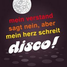 HOMEADE IN HAMBURG Kühlschrankmagnet Disco