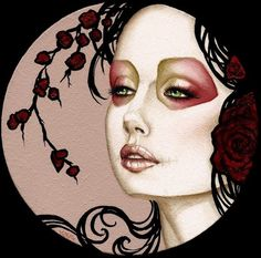 Blush Response archival giclee print by six06 on Etsy, $20.00