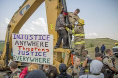 Deegan Standing Rock © Justin Deegan, August 31st, 2016.