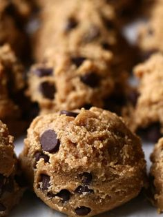 Make And Freeze Cookie Dough This Easy Chocolate Chip Cookie Dough Is Great For Food Prep Frozen Cookie Dough, Frozen Cookies, No Bake Cookies, Chocolate Chip Cookies Rezept, Chocolate Chip Cookie Dough, Chocolate Chips, Cookie Desserts, Cookie Recipes, Dessert Recipes
