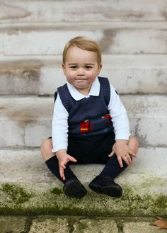 The Prince George Christmas portraits