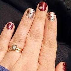 Love Spell by Jamberry  Lorraine Hauger Instagram lorrainehauger  #jamberrynails  #jamberrynailwraps #LoveSpell #lovespelljn #retiredwrap