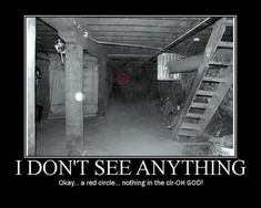 funny demotivational posters, when you see it meme   Look at the red circle then look to the left