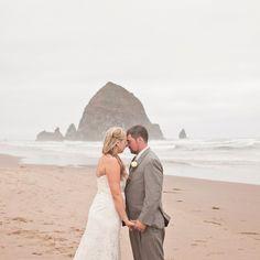 A Romantic Beach Wedding in Cannon Beach, OR