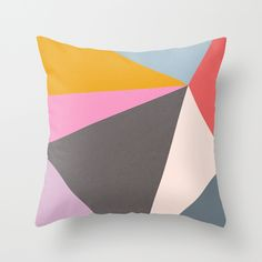 Abstract 09 Throw Pillow
