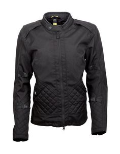 Pretty yet protective womens textile motorcycle jacket by Scorpion.