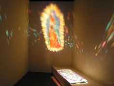 Woman in light/guadalupe [picture]. | Corning Museum of Glass Artist - Tanaka, Kana,