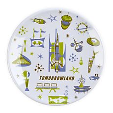 Tomorrowland Plate - Disney Store
