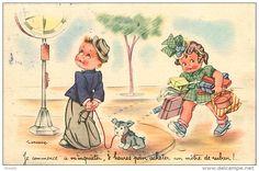 Cartes Postales > Thèmes > Illustrateurs & photographes > Illustrateurs - Signés > Gougeon - Delcampe.net