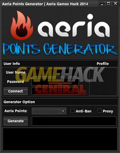 Aeria Points Generator how to get free Aeria Games points Working