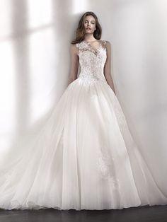 LINAS romantic wedding dress