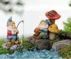 Mini World Woodland Gnome