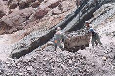 Potosí, Bolivia. Minas del Cerro Rico, año 2009.