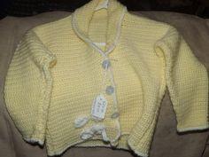 Handmade crochet light weight jacket by Vickyannstitches on Etsy, £8.50