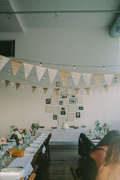 clyde common wedding -- love the lace and burlap