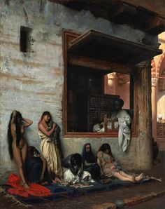 'The Slave Market'  Jean Leon Gerome