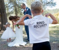 Ring Security Polo Shirt by TheKnottedPalm