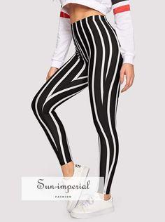 87f313fa0 30 Best striped leggings images