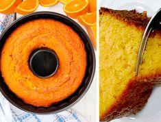 The Easiest and Lightest Orange Cake – New Cake Ideas Greek Sweets, Greek Desserts, Greek Recipes, Quick Recipes, Sweets Recipes, Raw Food Recipes, Cooking Recipes, Cakes Originales, New Cake