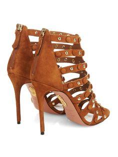 Very Wild suede sandals | Aquazzura