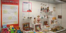 Toys of the 1950s in Gotta Have It! Iconic Toys from Past Decades at The National Museum of Toys and Miniatures.