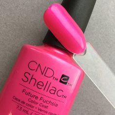 Future Fuchsia CND Shellac & Vinyluxx Art Vandal  _feewallace