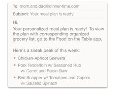 Meal Planning: Stress Free Meal Planner Creates the Perfect Menu