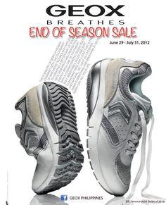 Geox Philippines End of Season Sale