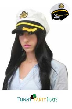 • The perfect accessory for any nautical, navy or sailing themed party, this sailor hat is a must hat. • This hat is a great accessory for Halloween, costume parties or other dress-up events. Diy Party Hats, Sailor Cap, Party Favors For Adults, Hat Crafts, Holiday Costumes, Navy Marine, Diy Hat, Cool Costumes, Costume Accessories