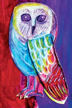'Jojo the Owl that Flew to the Stars' by Lila Carney-Chapus from Kids At The ARThouse