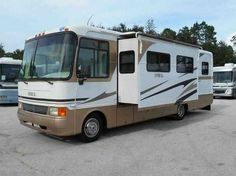 2003 Used Holiday Rambler Admiral SE 30PDD Class A in Florida FL.Recreational Vehicle, rv, 2003 Holiday Rambler Admiral SE 30PDD, 2003 Holiday Rambler SE 30PDD with 2 slide out's. Ford V10 gas engine with only 33K miles. Nice driving RV and easy to handle.Clean Quality Built Coach. Very clean and well maintained. Non smoker owned and no pets. All of our RV's are inspected, cleaned, serviced, and reconditioned. We have been in business for 24 years and offer low prices along with a casual…