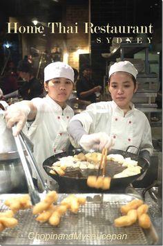 Dessert chefs at Home Thai Restaurant, Sydney