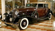 1932 Cadillac 16 All Weather Phaeton - not a Packard but nice nonetheless.