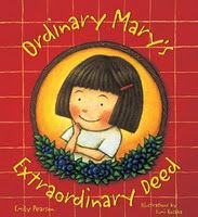 List of kids' books about kindness, including this one: Ordinary Mary's Extraordinary Deed by Emily Pearson, Fumi Kosaka Books About Kindness, Small Acts Of Kindness, Kindness Matters, Kindness Ideas, Kindness Projects, Kindness Activities, Mindfulness Activities, Kindness Challenge, Daisy Petals
