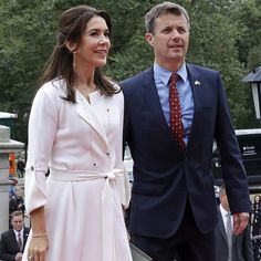 Crown Prince Frederik and Princess Mary of Denmark are greeted by Massachusetts Governor Charlie Baker and his wife Lauren as part of a two-day trade mission to Boston, on September 30, 2016 in Boston, Massachusetts. The Danish royal couple Prince Frederik and Princess Mary are on a several city visit to the United States.