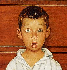 1956 - The Discovery- by Norman Rockwell (detail) | Flickr - Photo Sharing!
