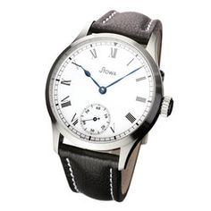 STOWA Marine Automatic with Roman numerals Stowa, Savile Row, Roman Numerals, Mechanical Watch, Chronograph, Omega Watch, The Originals, Accessories, Wrist Watches